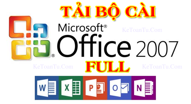 Tải office 2007